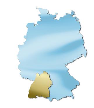 deutsche bundesländer => baden-württemberg