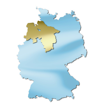 deutsche bundesländer => niedersachsen